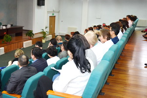 A seminar was held with the chief cardiologists of Kazakhstan