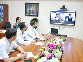 Heart center of Almaty develops international cooperation